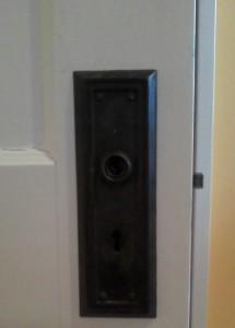 AA Door knob]