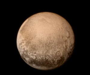 Here's the best picture we have of Pluto as of a few days ago.