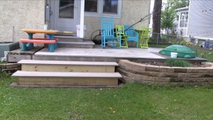 Deck steps 2